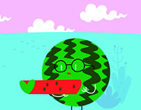 Tasty Illustration - 15. pit-a-pat watermelon