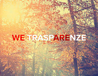 WE TRASPARENZE - Battage