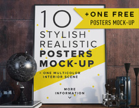 Posters Mock-up vol.1