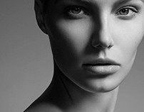 """""""The Face"""" HIGHLIGHTS Magazine. Model Gintare S."""