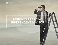 Atrium – Responsive One Page WordPress Theme