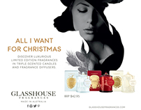 Glasshouse Christmas Range 13'