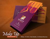 Best Makeup Brochure Template | Modern Design