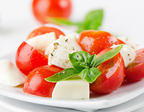 Menu Italiano Website