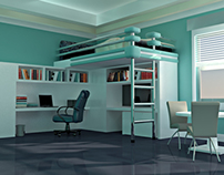INTERIOR DESIGN USING 3D MAX