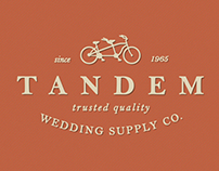 Tandem Wedding Supply Co. Branding