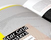 """Diseño del artículo """"Star Grid Posters"""" EME magazine"""