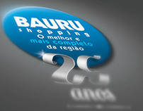 Selo Bauru Shopping 25 anos