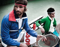 ANYONE FOR TENNIS ++ DIF MAGAZINE