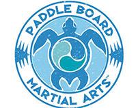 Paddle Board Martial Arts Brand Identity