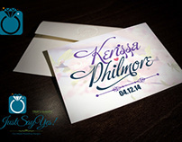 Kerissa & Philmore Wedding Invitation