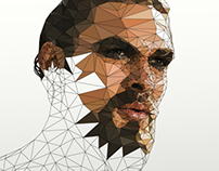ILLUSTRATION | Khal Drogo - Low Poly