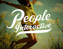 People Interactive Concept Logo