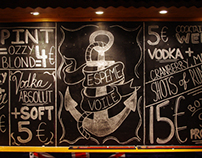 Cafe Oz Typography