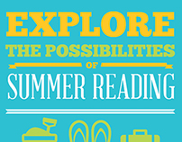 Summer Reading Promotion Poster