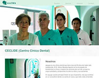 Webpage: CECLIDE Centro Clínico Dental (In progress)