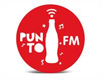 Punto Coca Cola.FM / Propuesta Gráfica Dorado 2013