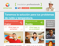 Single webpage: Entornos | Insulation Professionals