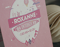 Birth Announcement Roxanne