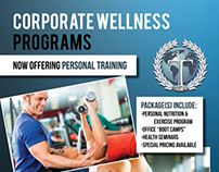 Triumph Group Management personal training flyer