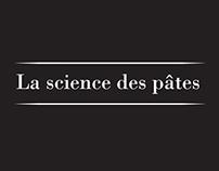 Marque de cosmétique La science des pâtes