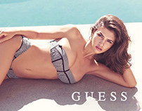GUESS LINGERIE CAMPAIGN SPRING 2014