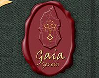 Gaia-Genesis - Menu book