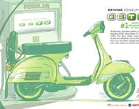GSTV Spec Work - Design/Art Direction