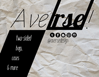 Averse! Two-Sided Brand logo