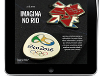Digital magazine about Olympic's Games