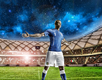 #startbelieving / Puma adv retouch