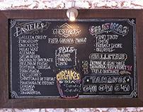Chalkboard Menú