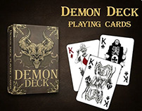 Demon Deck - playing cards.
