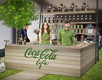 Coca Cola Life / Lanzamiento Life Garden