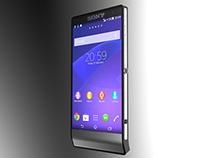 SONY - Mobile phone 3D modelling