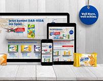 DAR-VIDA Gewinnspiel-Microsite