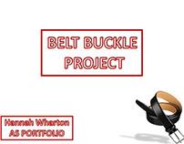 AS Level Belt Buckle