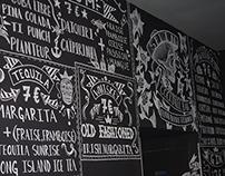 Splin Cocktail Bar Typography