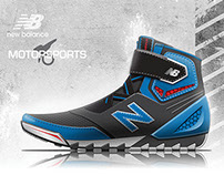 Concept Motorcycle Boots for New Balance