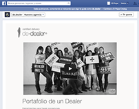 Single Webpage: De·dealer Facebook Page Tab