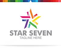 Star Seven   Logo Template