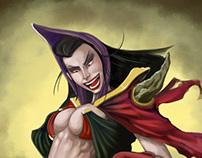 Dark witch!