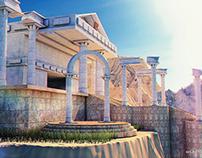 Taurus' Temple - Saint Seiya