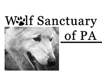 Wolf Sanctuary of PA web banner