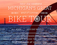 Bike Tour Social Media Poster Redesign