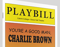 Playbill | You're a Good Man, Charlie Brown