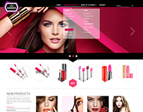 Cosmetic Web design Project