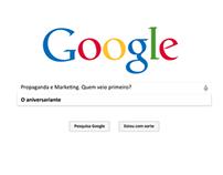 """Google - Anúncio """"Parabéns, Propmark"""""""