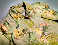 Tommy Bahama Cessna shirt design