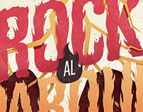 """""""Rock al Parque: 20 años"""" Poster & Logo"""